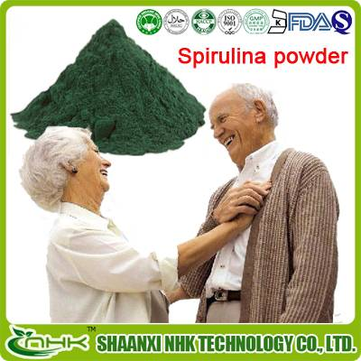 GMP factory supply 100% natural nutritional supplements organic Spirulina powder