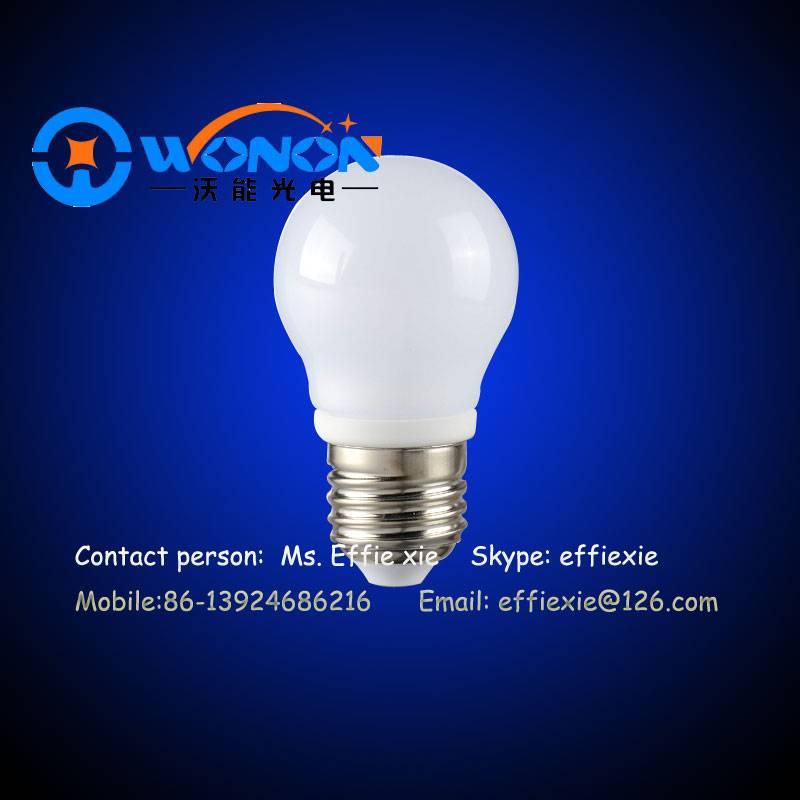 3 years warranty high CRI 3w 5w led bulb lights with ceramic body