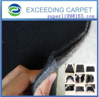 polyester needle punch fabric for automotive