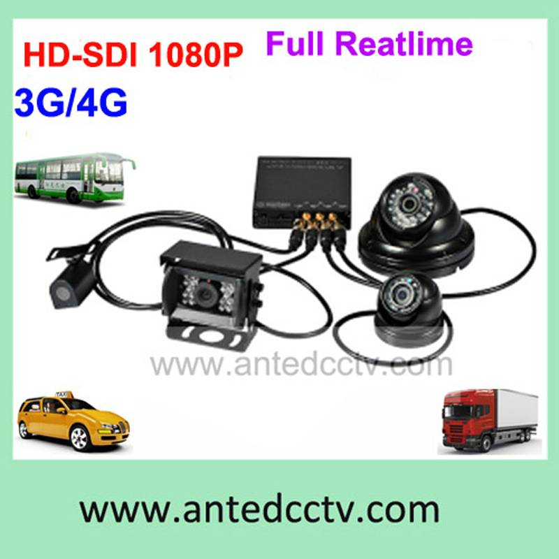 4 channel School Bus Camera Solution with HD 1080p Camera