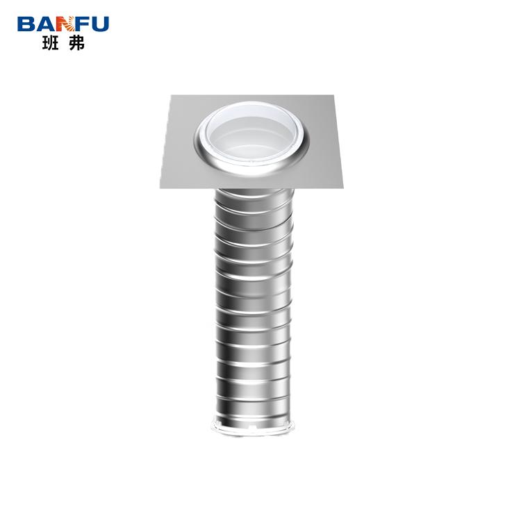 no power flexible tubular roof skylight daylighting system