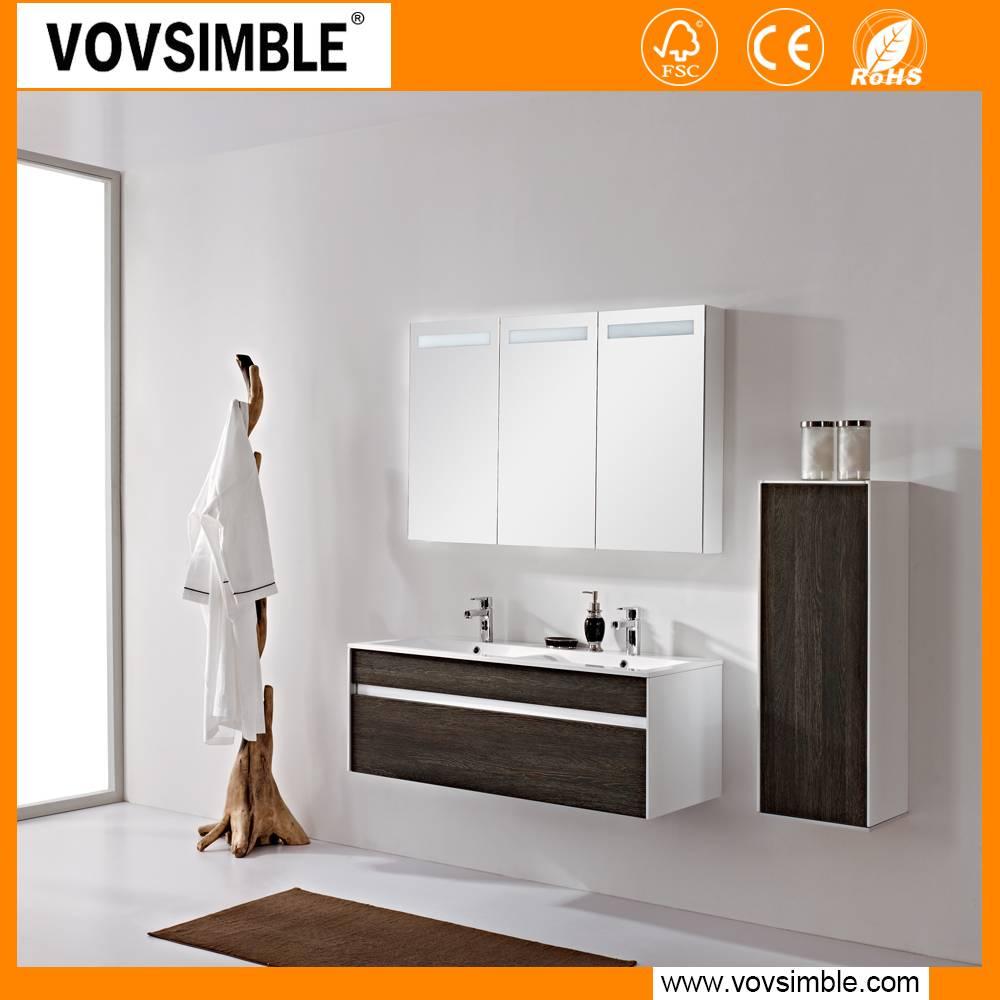 DongGuan SIMBLEE co-friendly,waterproof Customized MDF Bathroom vanity