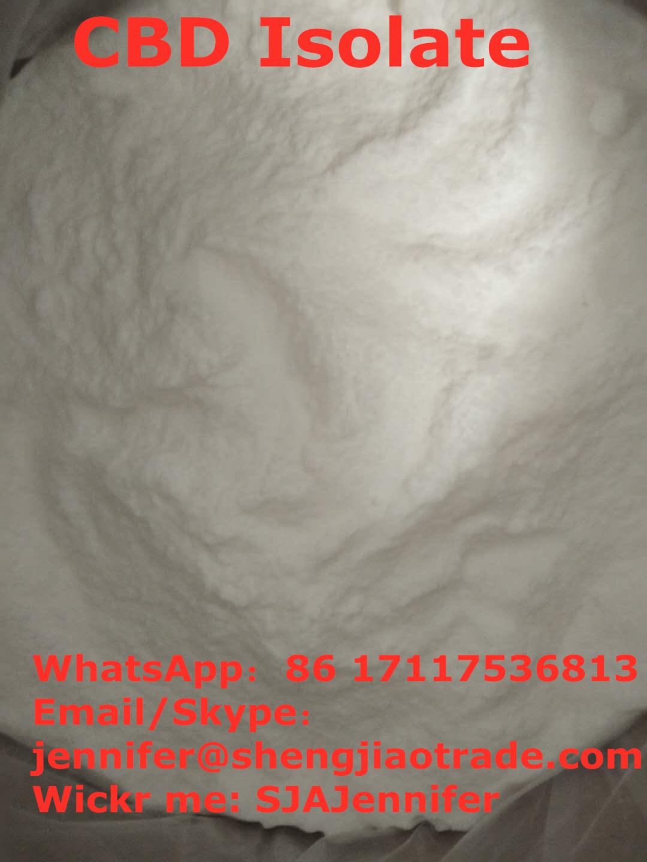 CBD Isolate Lifestyle Health Skincar cas:13956-29-1 CBD Extract CBD white powder Oil WickrSJAJennife