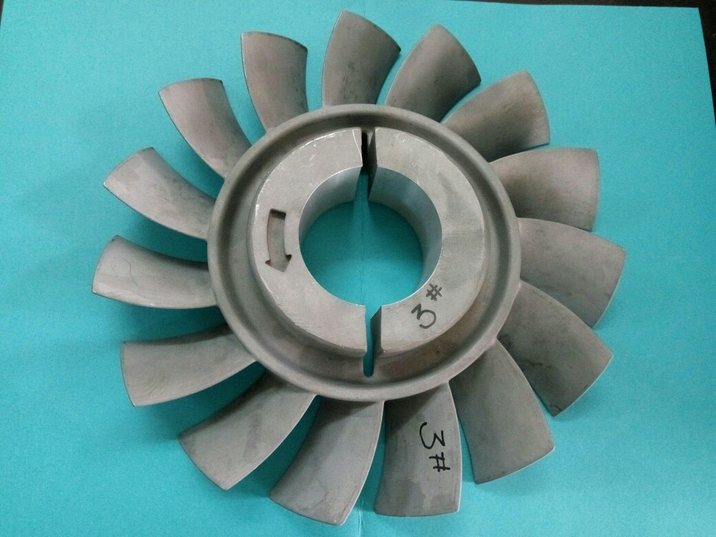 Guangdong foundry investment casting aluminium alloy fans