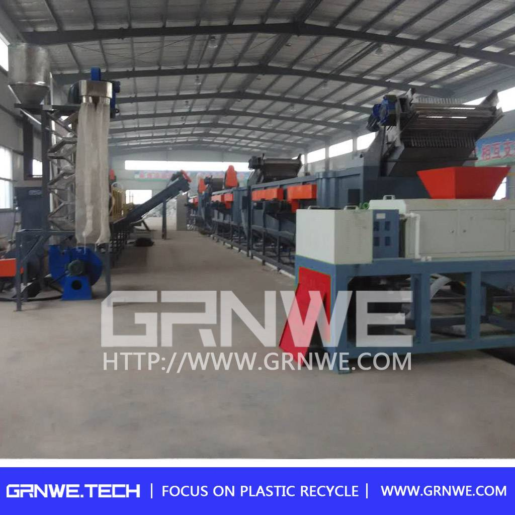 Hot selling recycle plastic bags machine