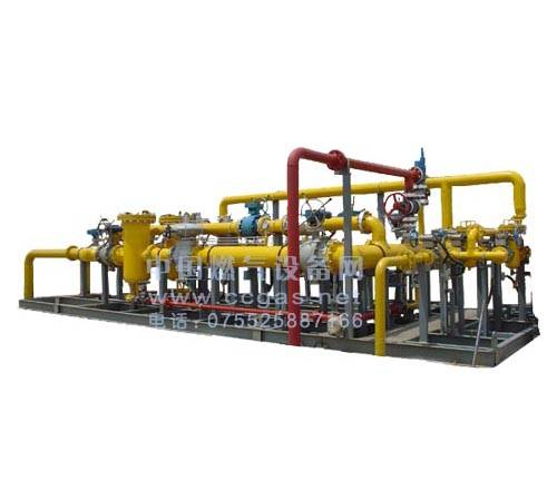gas regulating metering station - Yahweh gas equipment production base