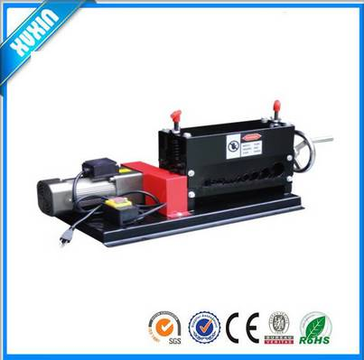 Semi-automatic high separation scrap copper wire recycling machine X-1001-3,scrap wire stripping