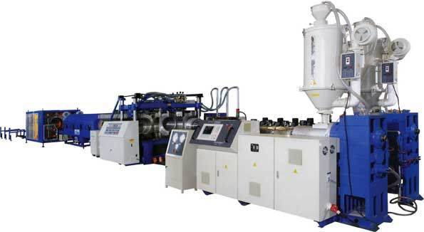 double -wall corrugated pipe production  line