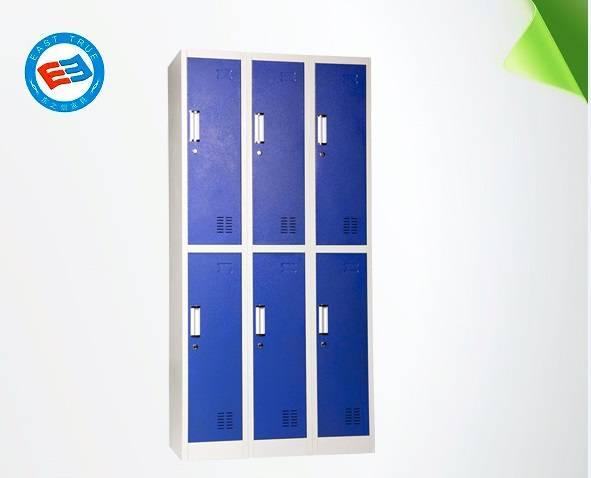 Six door steel locker Knock down Steel cabinet for home and office or school use locker