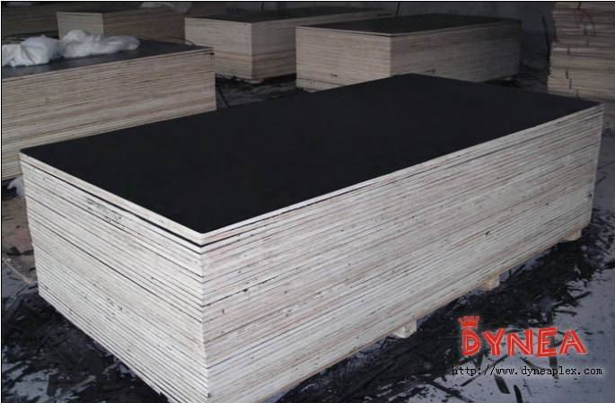 laminated film faced plywood combine core