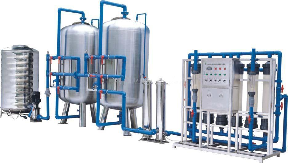 10000L/H Mineral Water Treatment / Ultrafiltration Water Purification Equipment