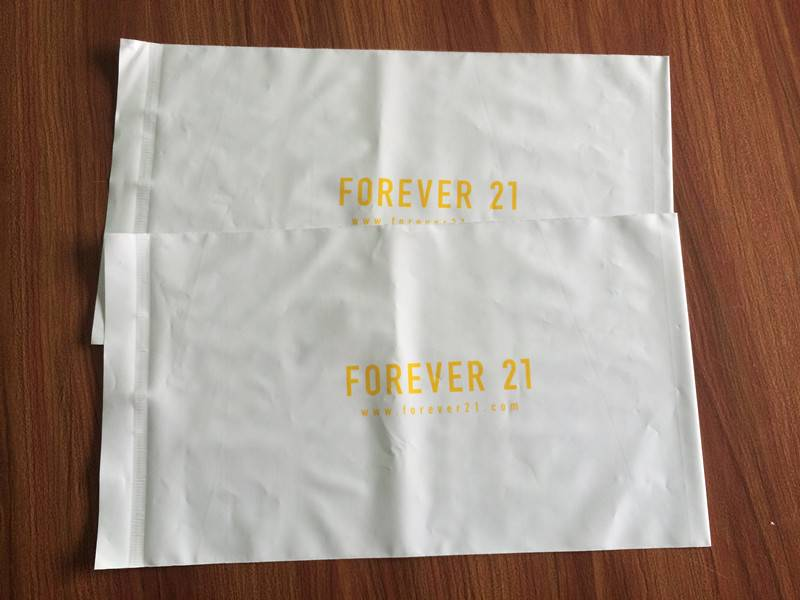 recyclable bag with logo/clothing plastic bag/polybag mailer
