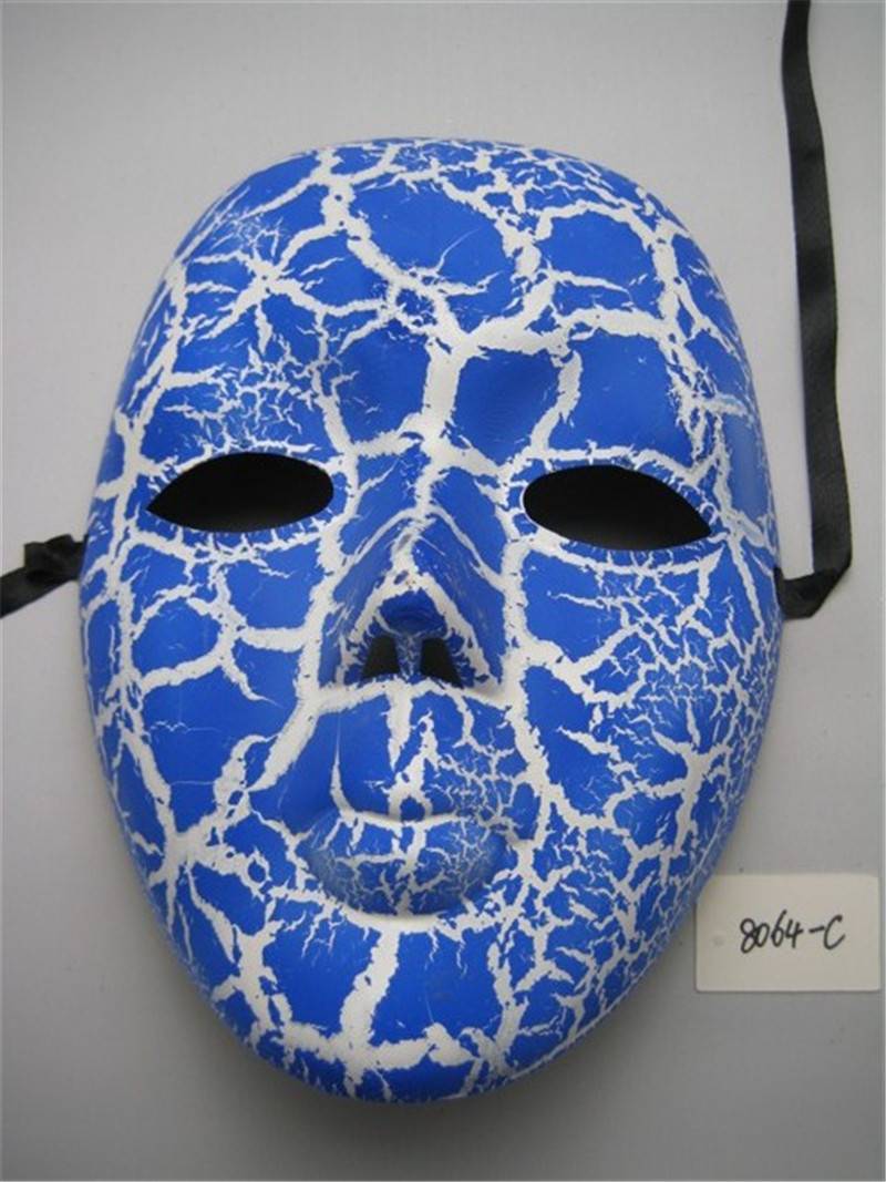 Crack Full Face Party Mask For Halloween Venetian Masquerade Party