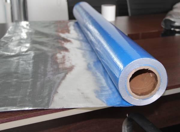 silver color reflective attic foil insulation