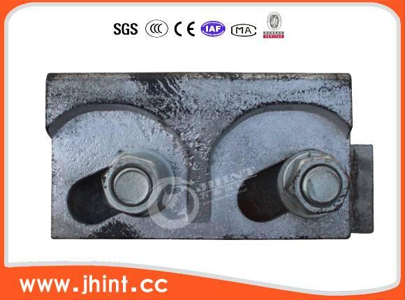 double hole mute rail clip