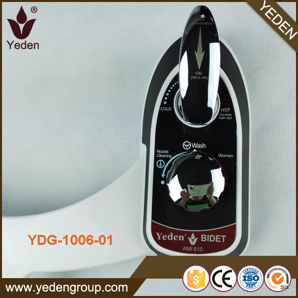 YDG-1006-01 xiamen yeden non electrical bidet toilet seat