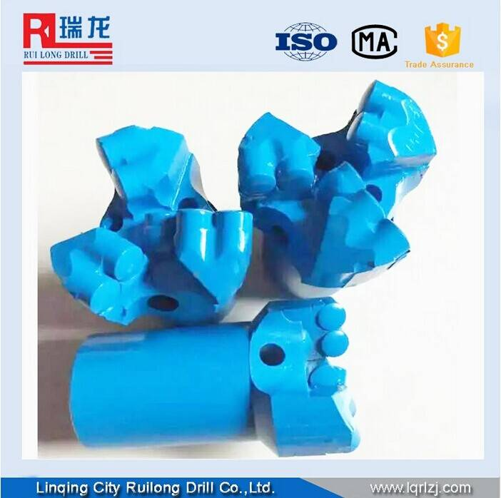 Non coring PDC drill bit for coal mining