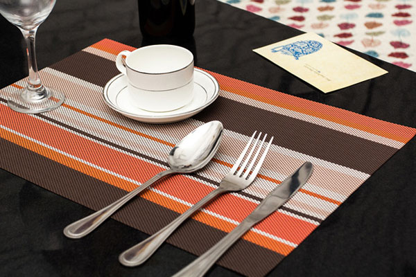 Childrens Clear Plastic Placemats UK Design