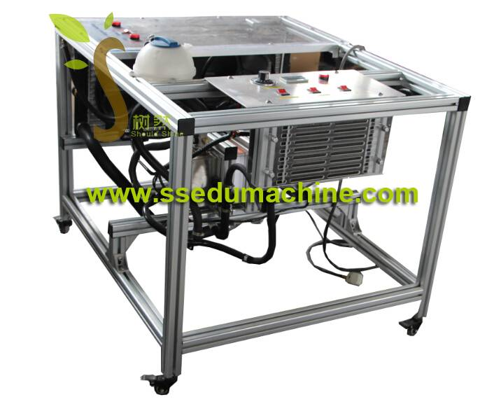 Air Cooling Trainer Automobile Training Equipment Didactic Equipment