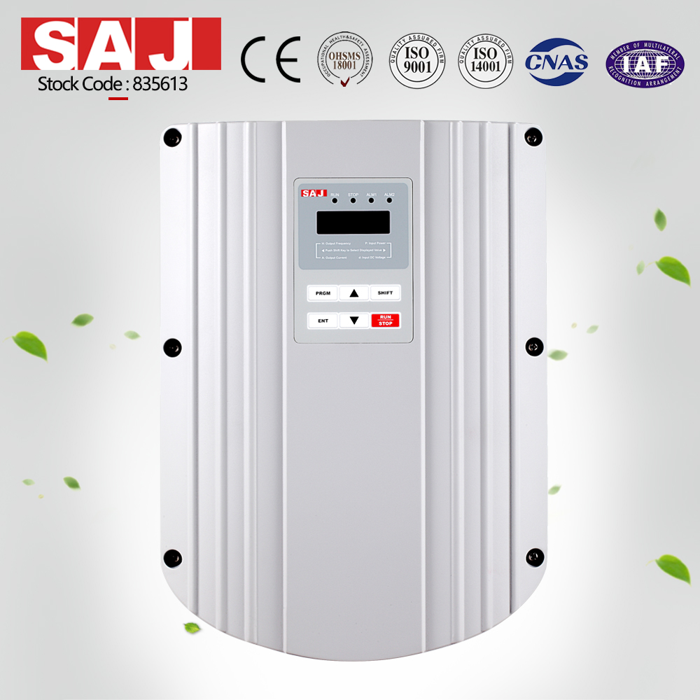 380V 2.2kw 3HP high efficiency MPPT solar power pump inverter controller with dry run low voltage