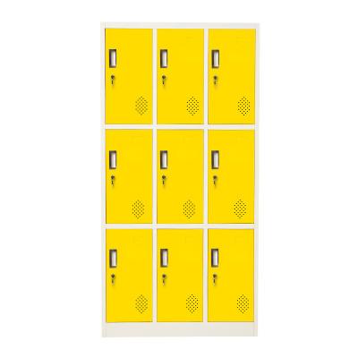 6 door outdoor metal locker//Keyless locker metal clothes locker for gym