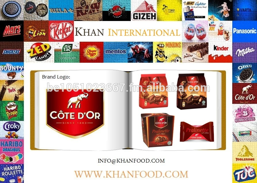 Côte D'or Chocolate - Pralinette - Mini Carre Nuts