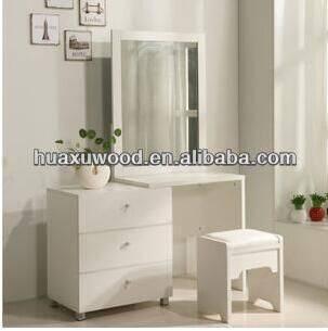 HXwl-001 white dresser with mirror