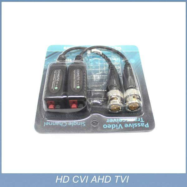 2015 new 1channel passive HD TVI balun for security system