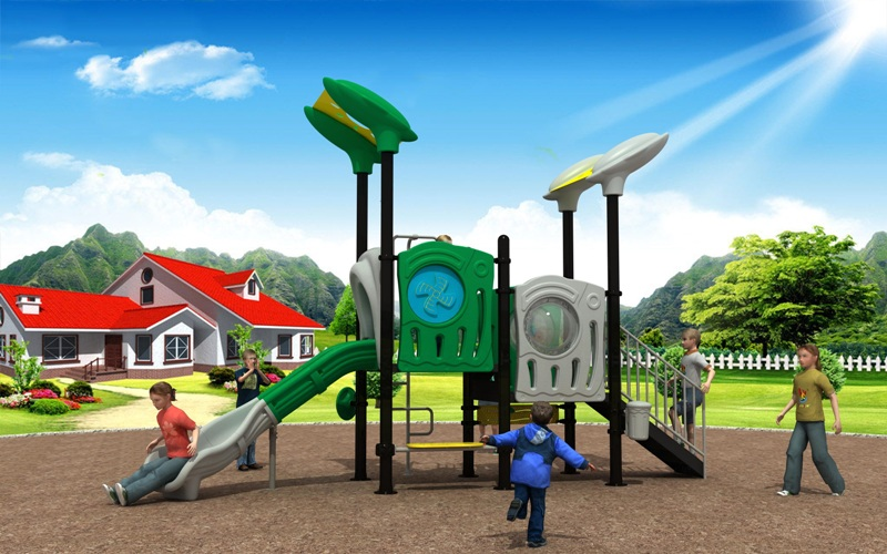 Popular Modern Series Outdoor Playground Equipment for Kindergarten WD-XD104