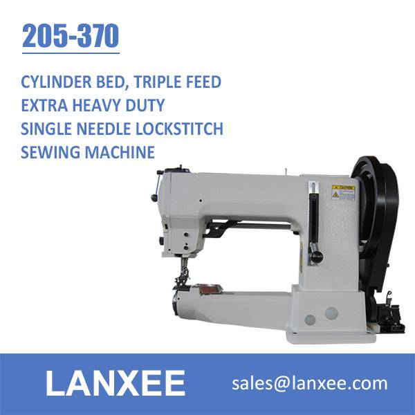 Lanxee 205-370 Industrial Cylinder Bed Heavy Duty Sewing Machine
