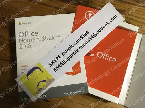 office 2016 home and student Key Code Microsoft Corp direct shipment No intermediate link fpp