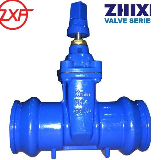 Socket end gate valve with stem cap, Size 110mm price USD29.2/pcs
