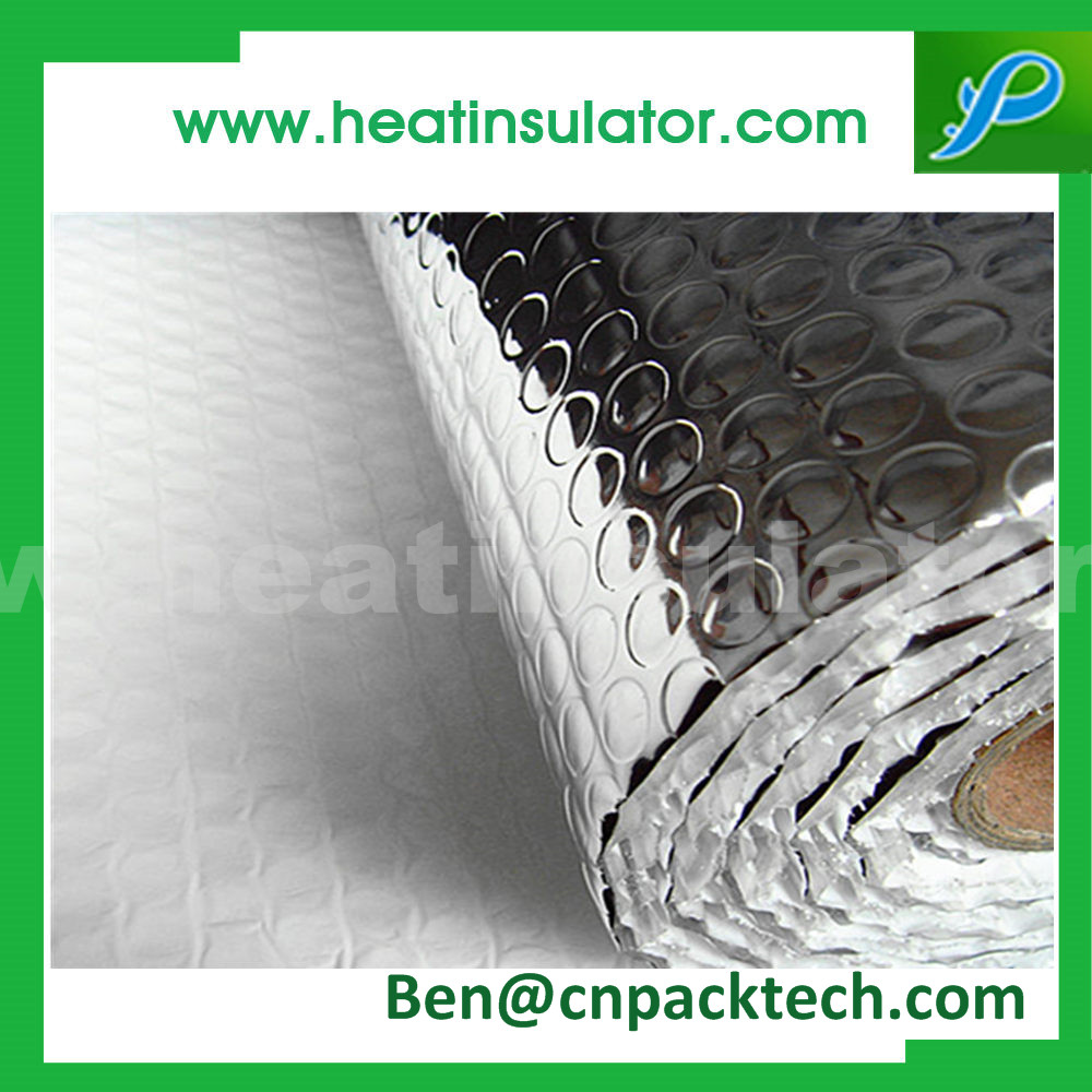 Silver Reflective Foil Bubble Insulation For Commercial Buildings
