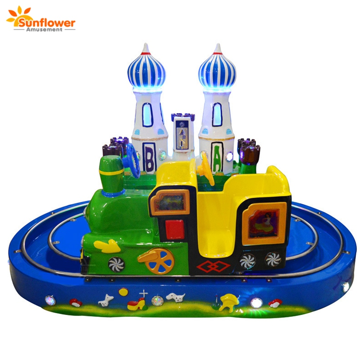 Coin operated kids amusement toy train sale electric train ride