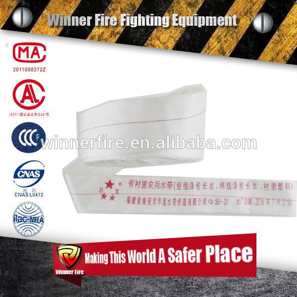 Outstanding Heat Resistance twill Nozzle fire hose with high quality