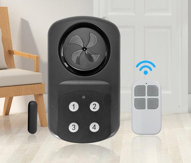 remote control waterproof door alarm/door bell