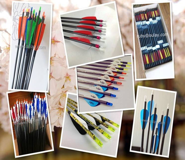 archery carbon hunting arrows 0.002~0.004