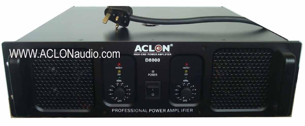 High Powerful Big Watt Heavy Power Amplifier (D8000)