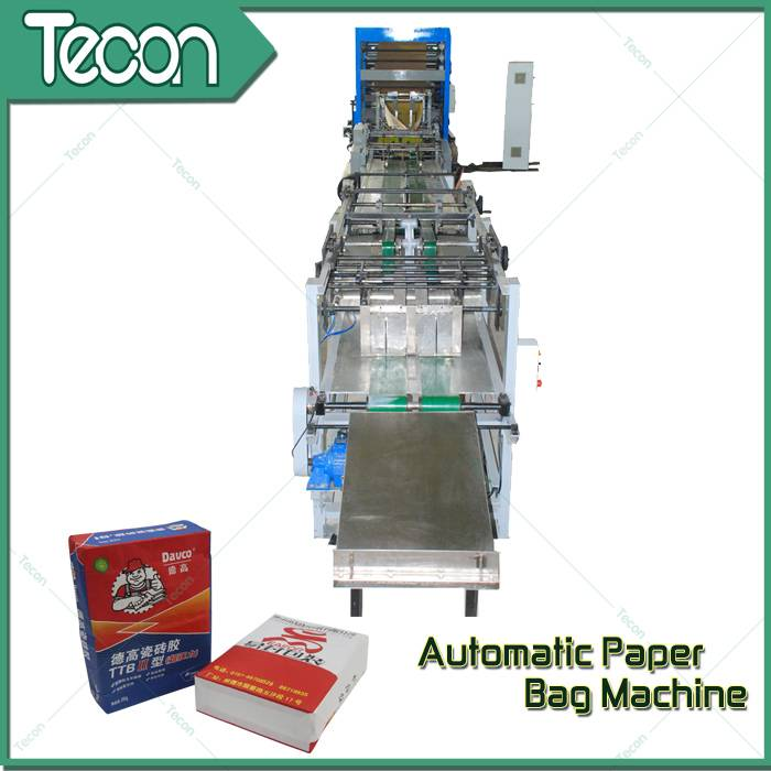 Advanced Paper Bag Making Machine with 4 Colors Printing