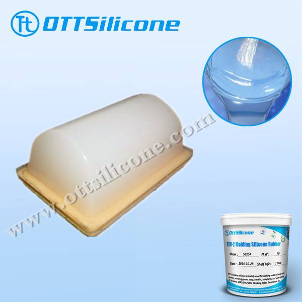 rtv2 Pad printing silicone for pvc toys