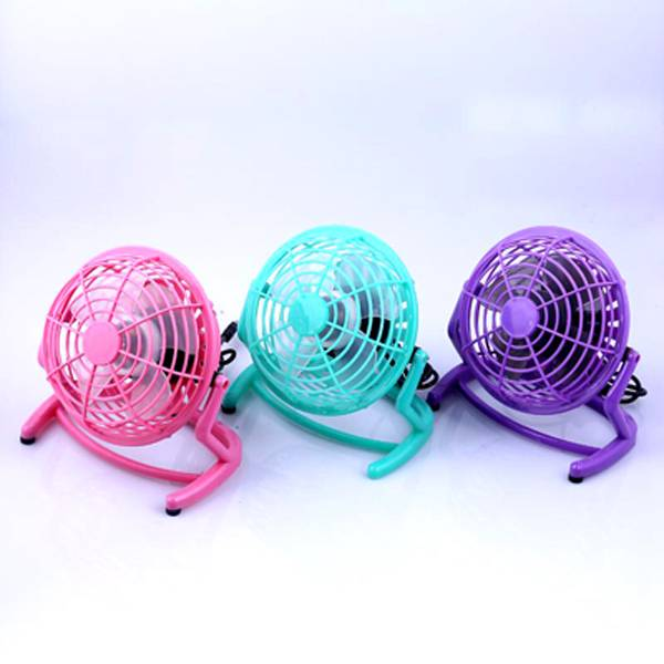 "4""USB mini table plastic fan for student"