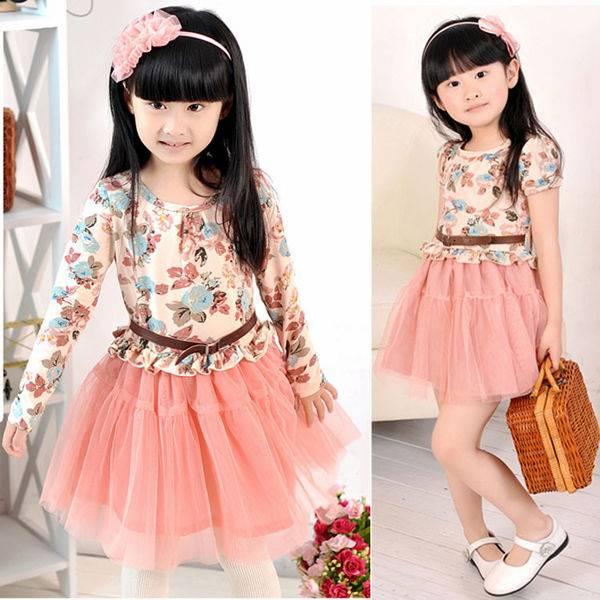 Cheap china wholesale kids clothing girls' dress kid clothes mix order wholesale