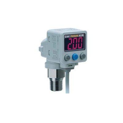 SMC 2-color display digital pressure switch ISE80-02-T