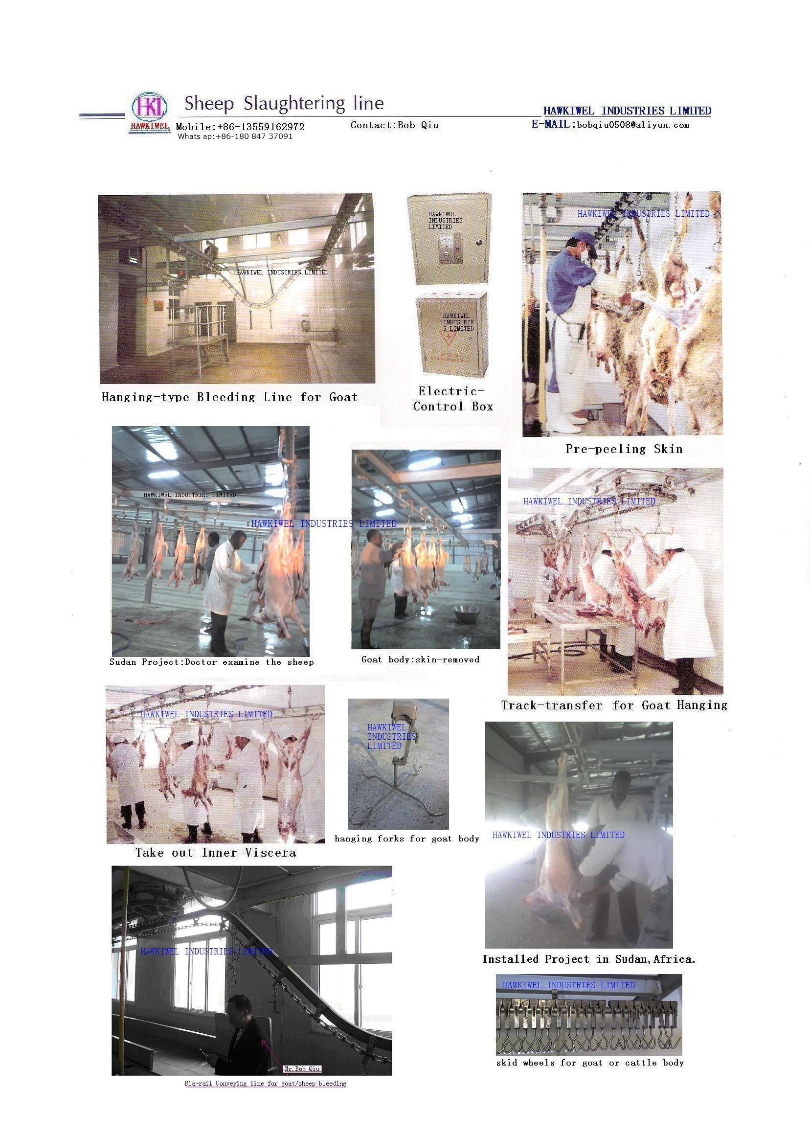 GOAT/SHEEP SLAUGHTERING EQUIPMENT/machinery