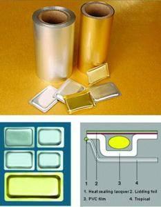 Pharmaceutical Tropical Blister Aluminum Foil