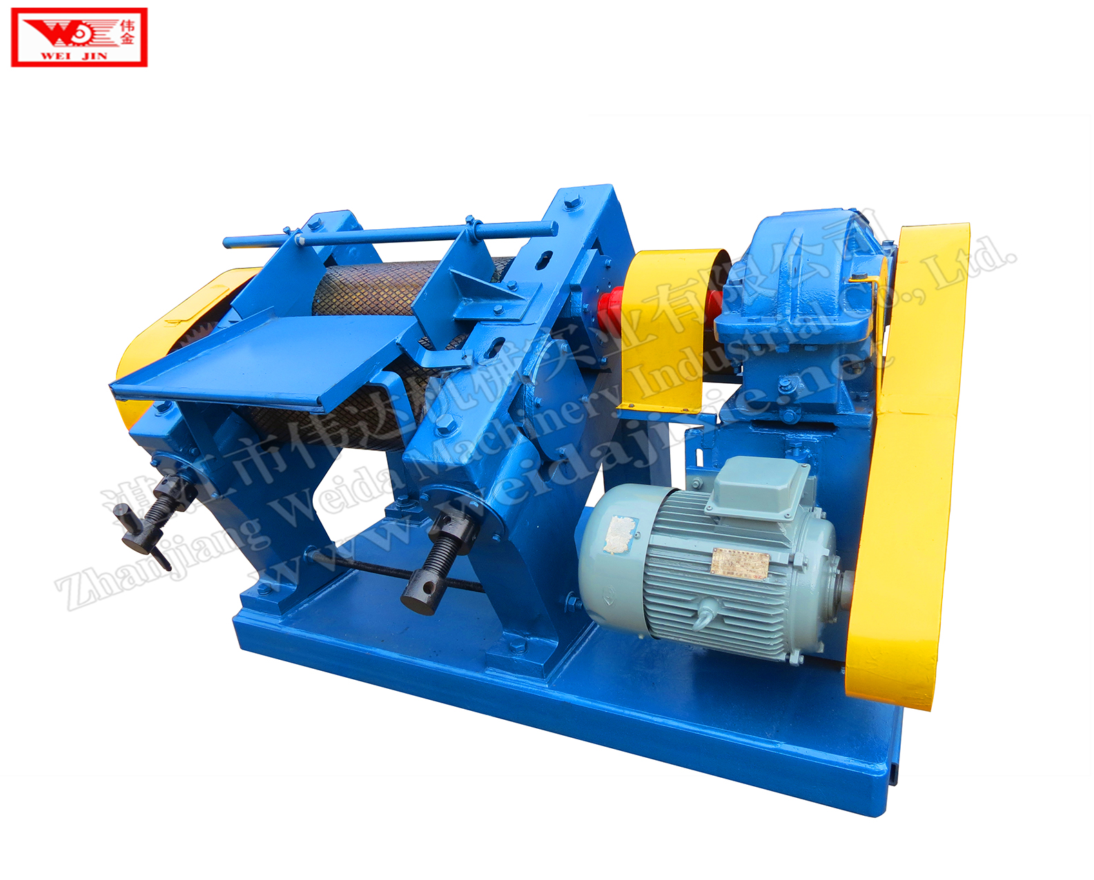 Mud rubber cleaning creper machine