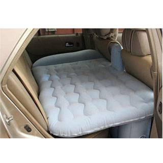 Fashion car air mattress backseat bed for family travelling