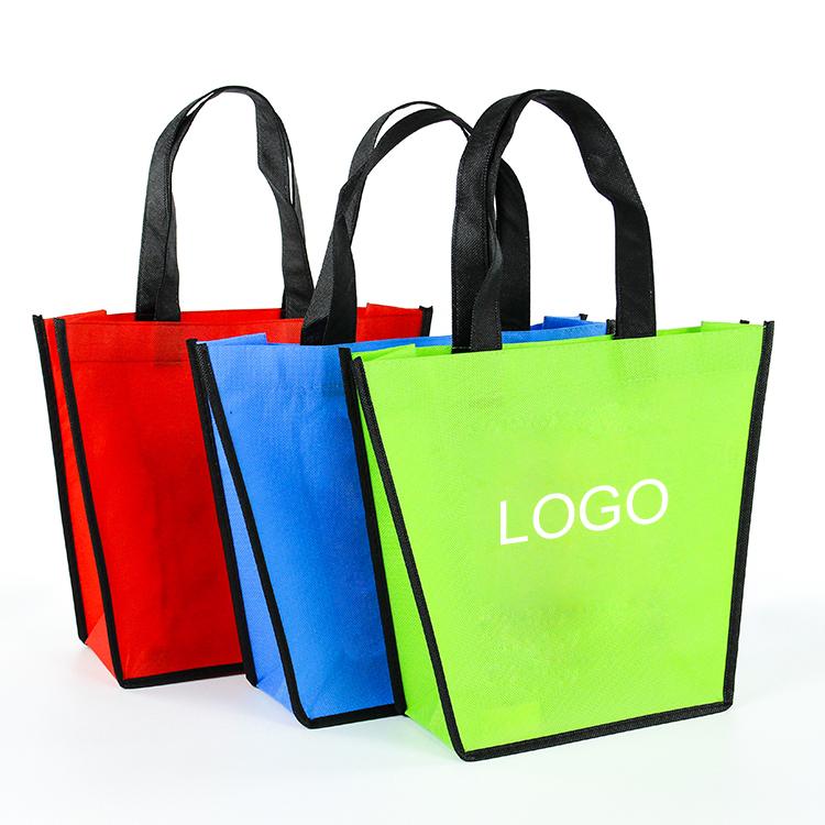 Non-woven Tote BagNon Woven Tote Grocery Bag Custom Woven Tote Bag wholesale