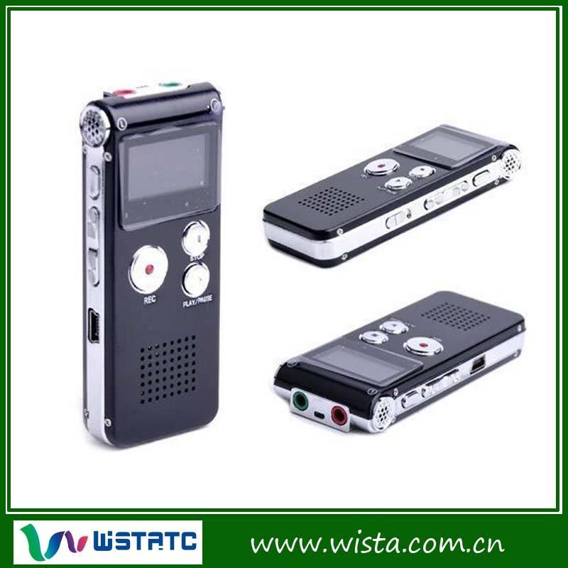 Portable mini digital voice recorder