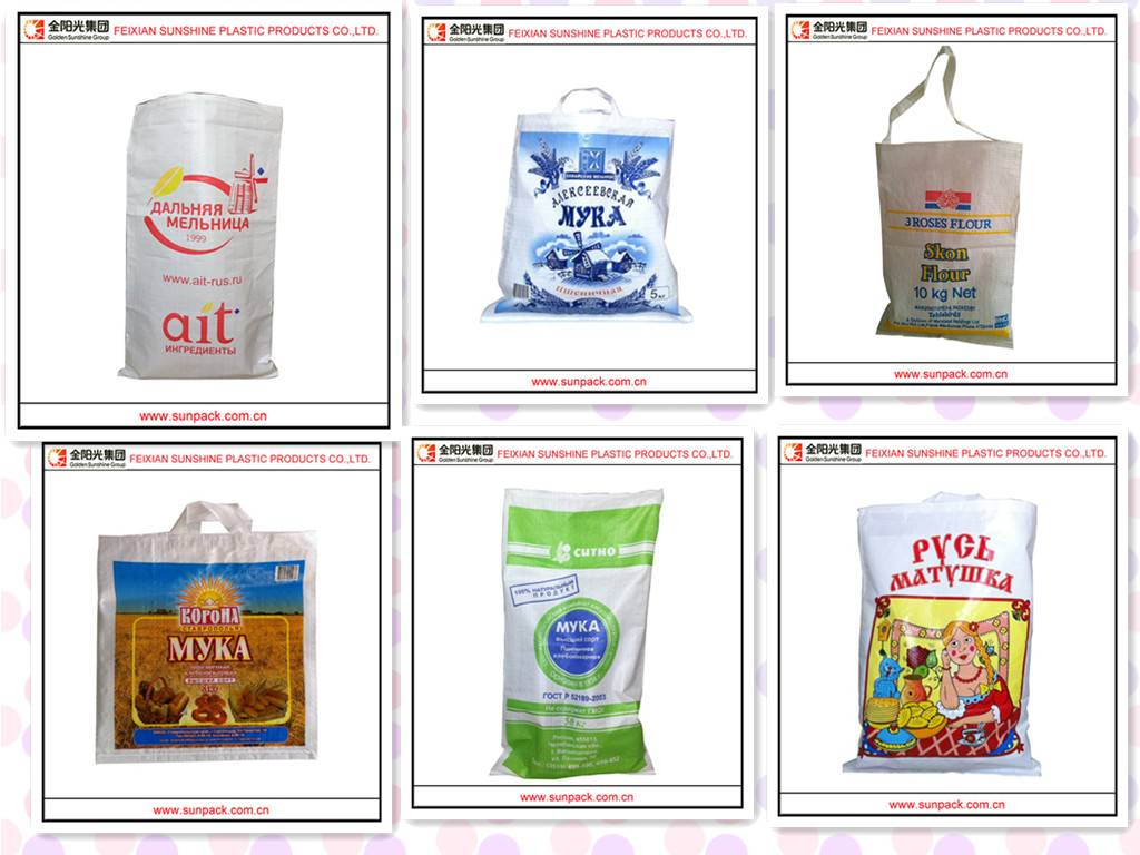China pp flour  bag